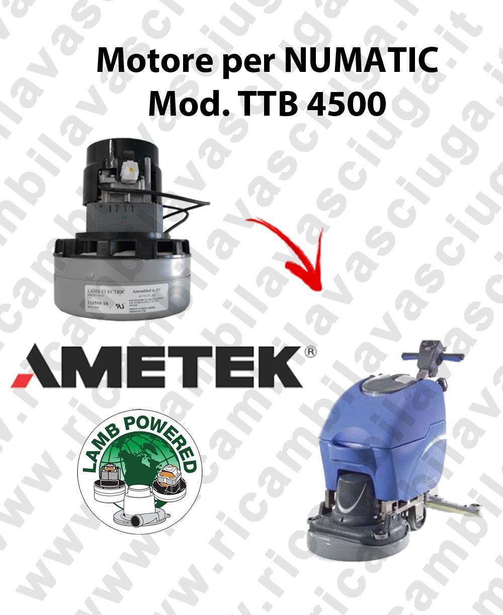 TTB 4500 Ametek Vacuum Motor scrubber dryer NUMATIC