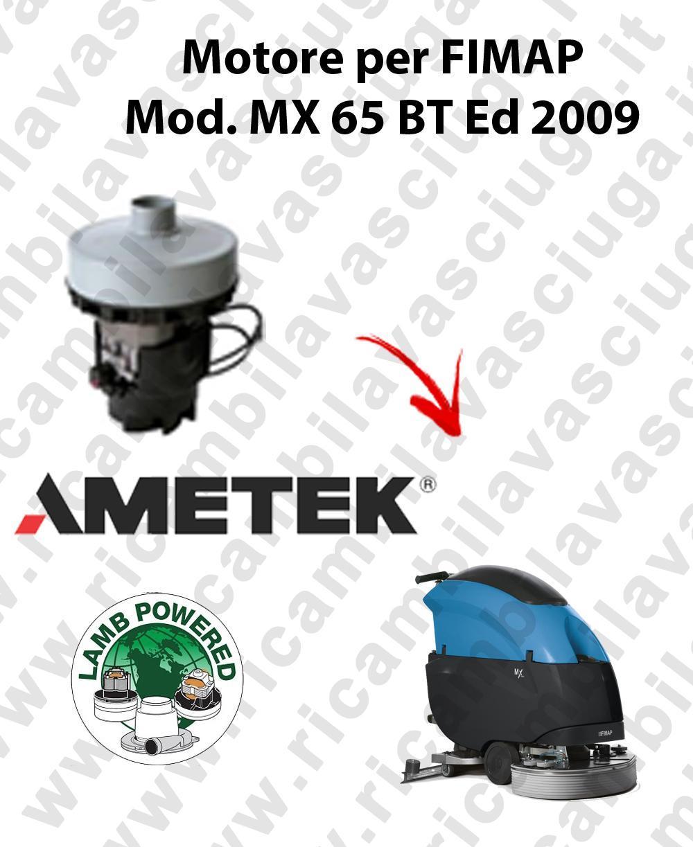 MX 65 BT Ed. 2009 Vacuum motor LAMB AMETEK scrubber dryer FIMAP