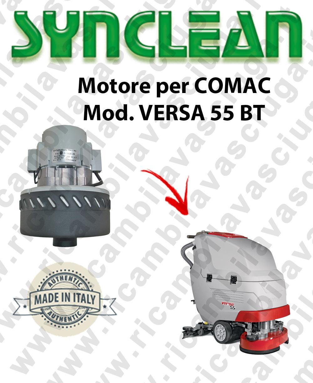 VERSA 55 BT Vacuum motor SYNCLEAN for scrubber dryer COMAC