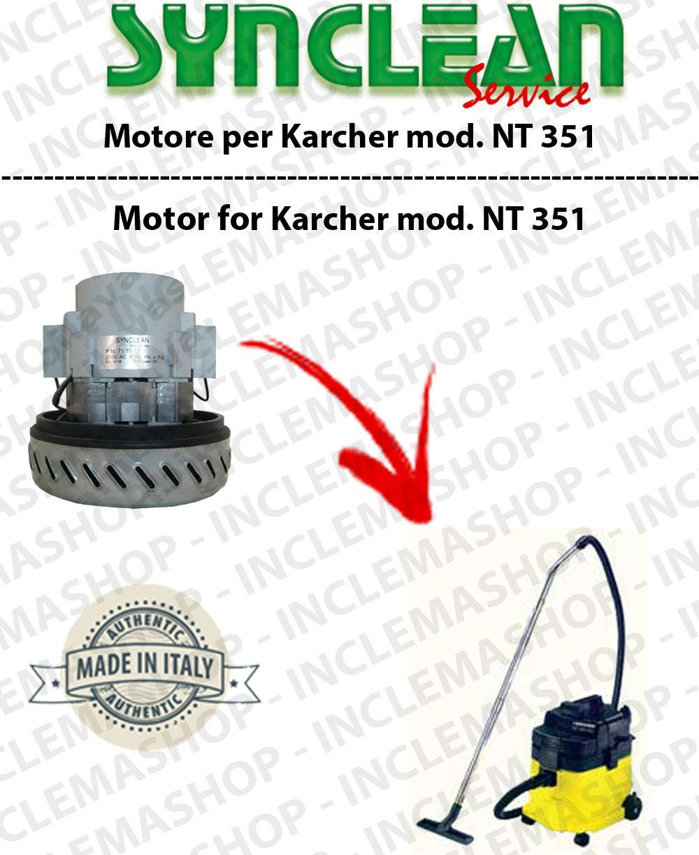 NT 351 ECO Vacuum motor SYNCLEAN  for vacuum cleaner KARCHER