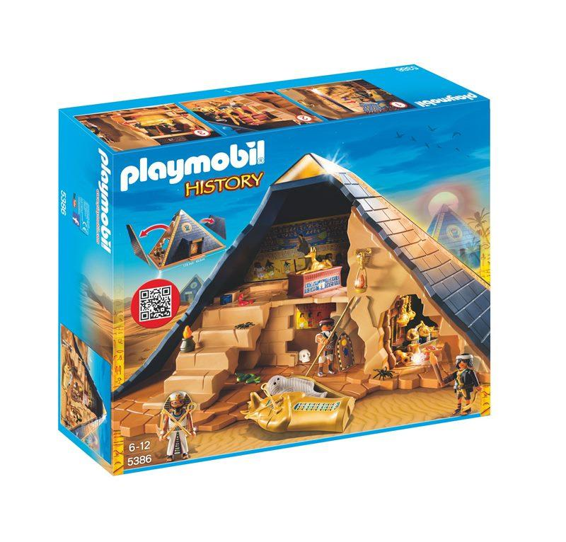 PLAYMOBIL GRANDE PIRAMIDE DEL FARAONE 5386