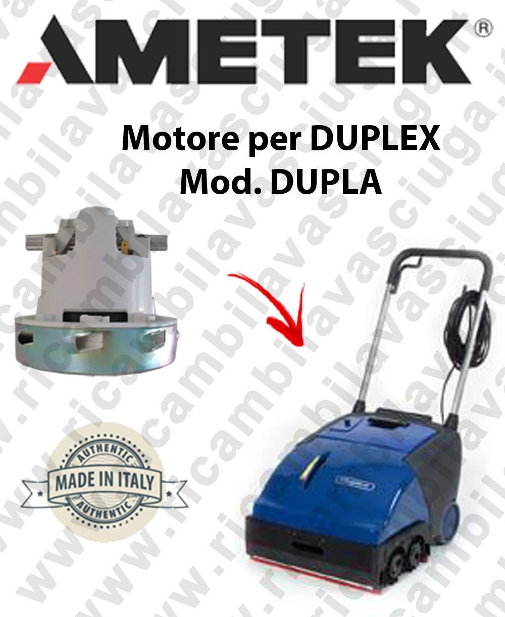 H401 C Ametek vacuum motor for scrubber dryer DULEVO
