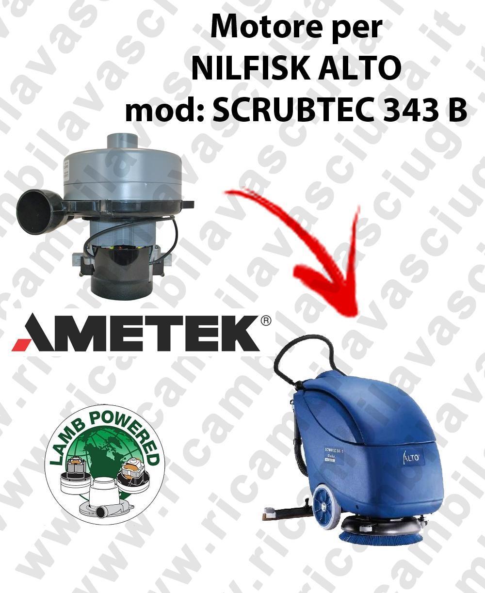 BA 410 Vacuum motor LAMB AMETEK for scrubber dryer NILFISK