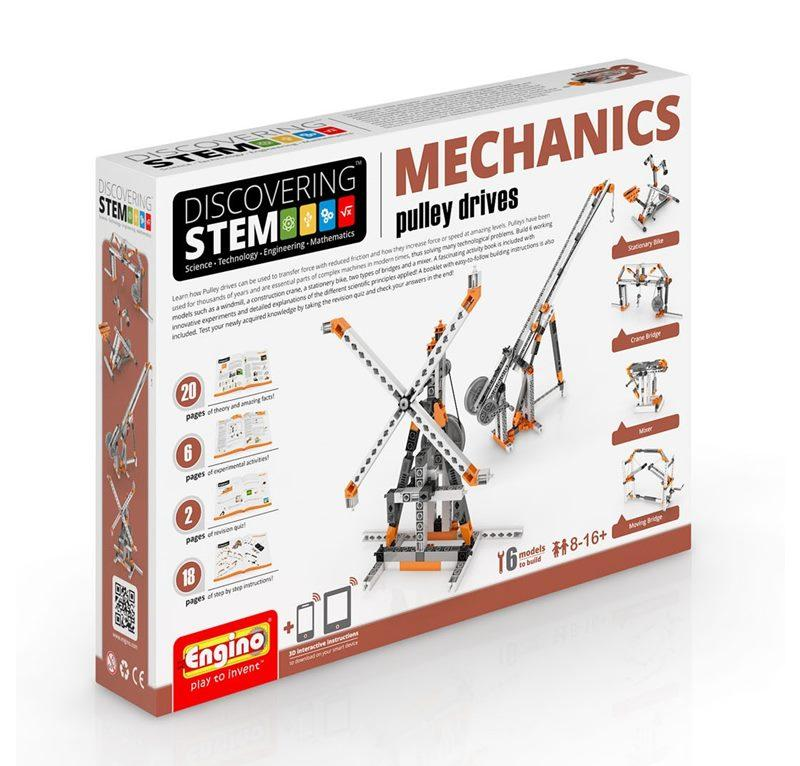 ENGINO STEM MECHANICS PULLEY DRIVES 094176