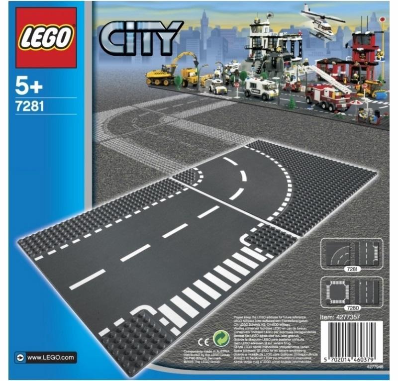 LEGO CITY SUPPLEMENTARY INCROCIO A T E CURVA 7281