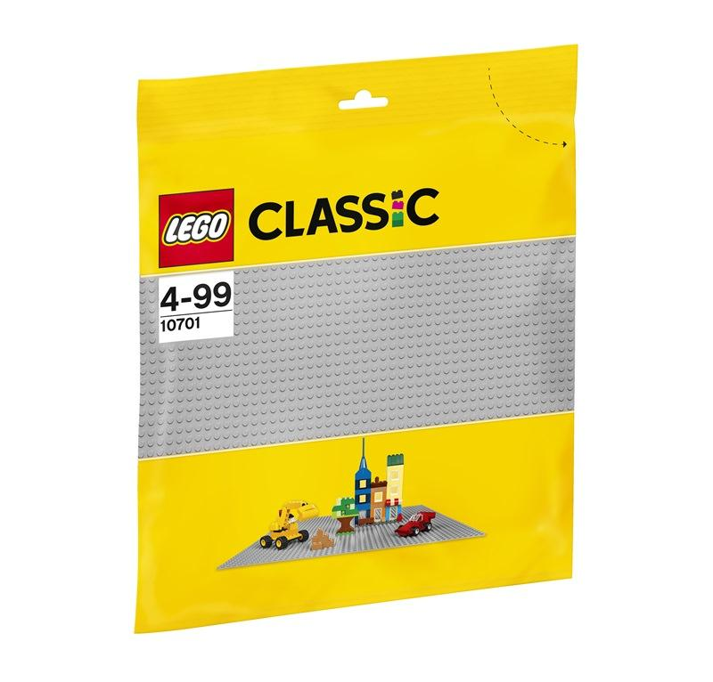 LEGO CLASSIC BASE GRIGIA 10701