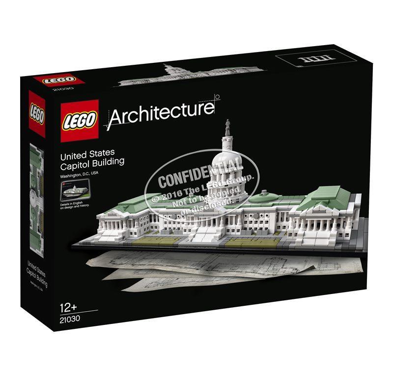 LEGO ARCHITECTURE CAMPIDOGLIO DI WASHINGTON 21030