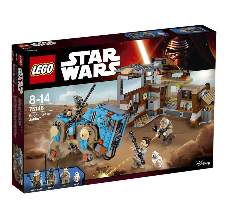 LEGO STAR WARS STAR INCONTRO SU JAKKU 75148