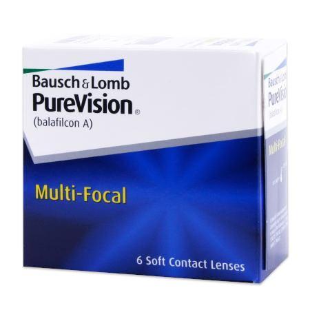 PureVision Multifocal (6 lenti)