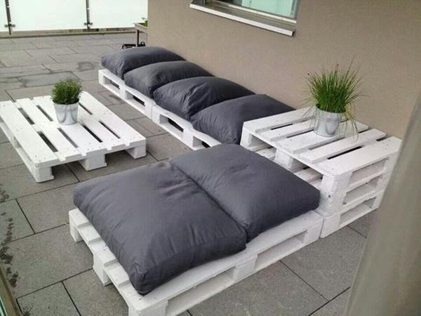 divano con bancali