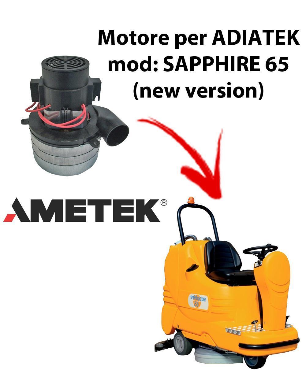 Sapphire 65 (new version) Motore de aspiración Ametek Italia  para fregadora Adiatek