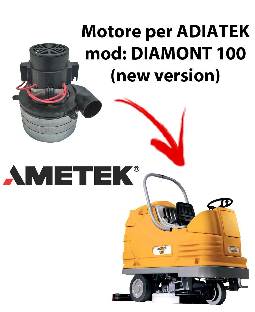 Diamond 100 (new version) Motore de aspiración Ametek Italia  para fregadora Adiatek