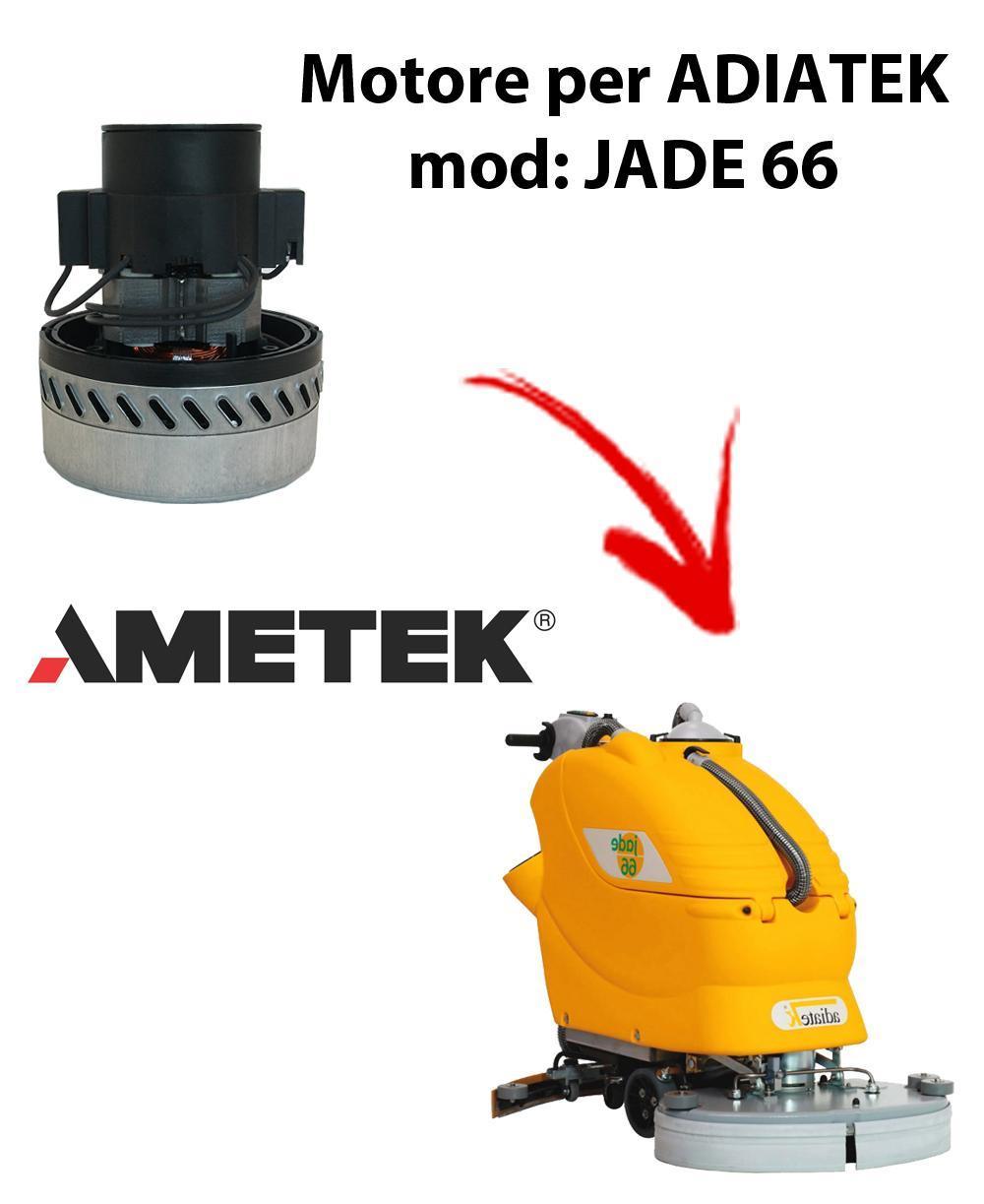 Jade 66 Motore de aspiración Ametek Italia  para fregadora Adiatek