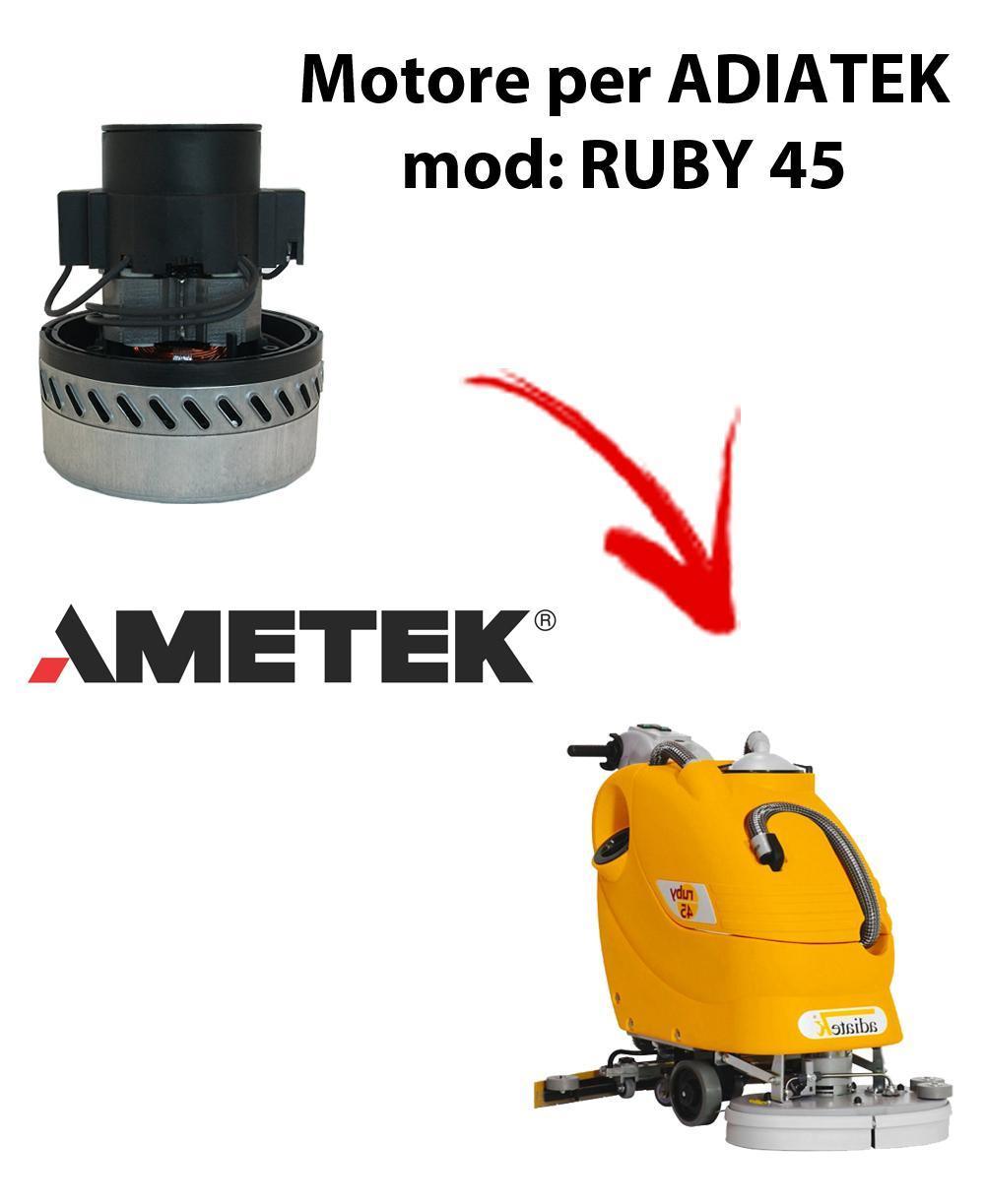 RUBY 45 Motore de aspiración Ametek Italia  para fregadora Adiatek