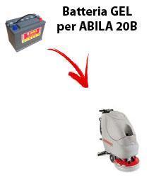 BATTERIA para ABILA 20B fregadoras COMAC