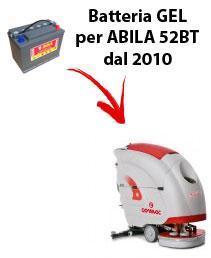 BATTERIA para ABILA 52BT fregadoras COMAC DAL 2010