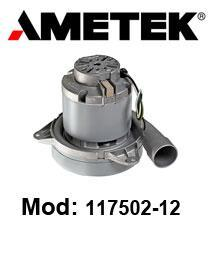 Motore de aspiración 117502-12 AMETEK para fregadora y aspira polvere