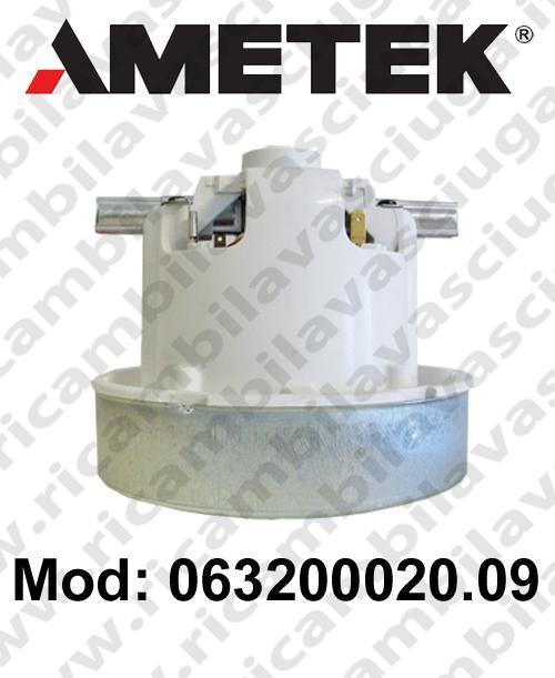 Motore de aspiración 063200020.09 AMETEK para aspiradora