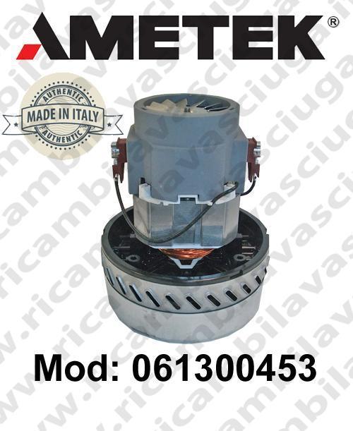 Motore de aspiración 061300453.00 AMETEK ITALIA para fregadora ,aspiradora y aspiradora húmeda
