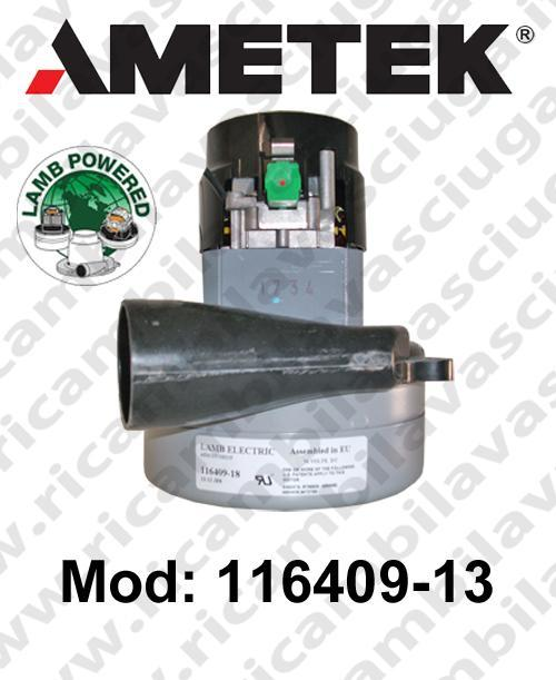 Motore de aspiración 116409-13 LAMB AMETEK para fregadora