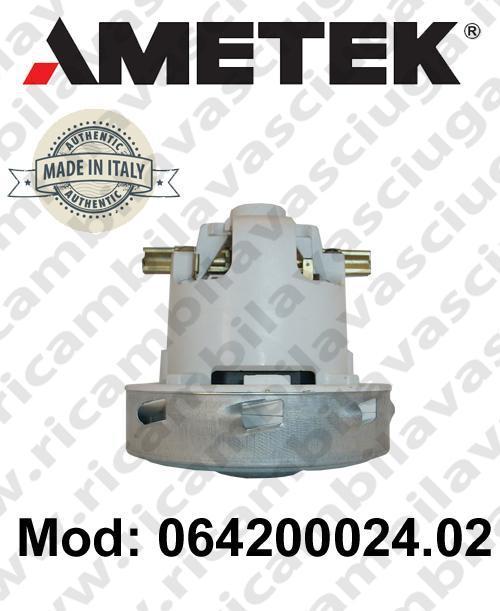 Motore de aspiración 064200024.02 AMETEK ITALIA para fregadora y aspiradora