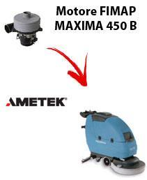 MAXIMA 450 B  Motore de aspiración Ametek para fregadora Fimap