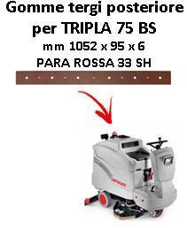 TRIPLA 75 BS goma de secado trasero Comac