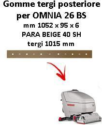OMNIA 26 BS  goma de secado trasero Comac