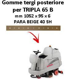 TRIPLA 65 B  goma de secado trasero Comac