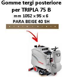 TRIPLA 75 B goma de secado trasero Comac