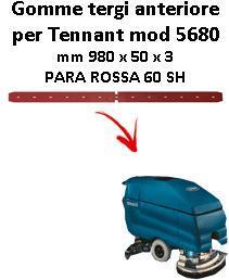 5680 goma de secado delantera TENNANT Para rojo squeegee lungo 700