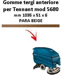 5680 goma de secado trasero TENNANT Para Beige squeegee lungo 700