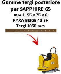 SAPPHIRE 65 goma de secado trasero Adiatek