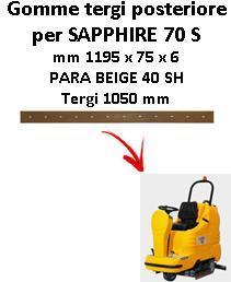 SAPPHIRE 70 S goma de secado trasero Adiatek