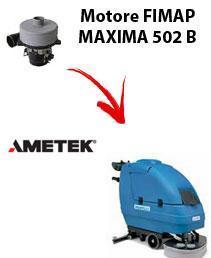 MAXIMA 502 B  Motore de aspiración Ametek para fregadora Fimap