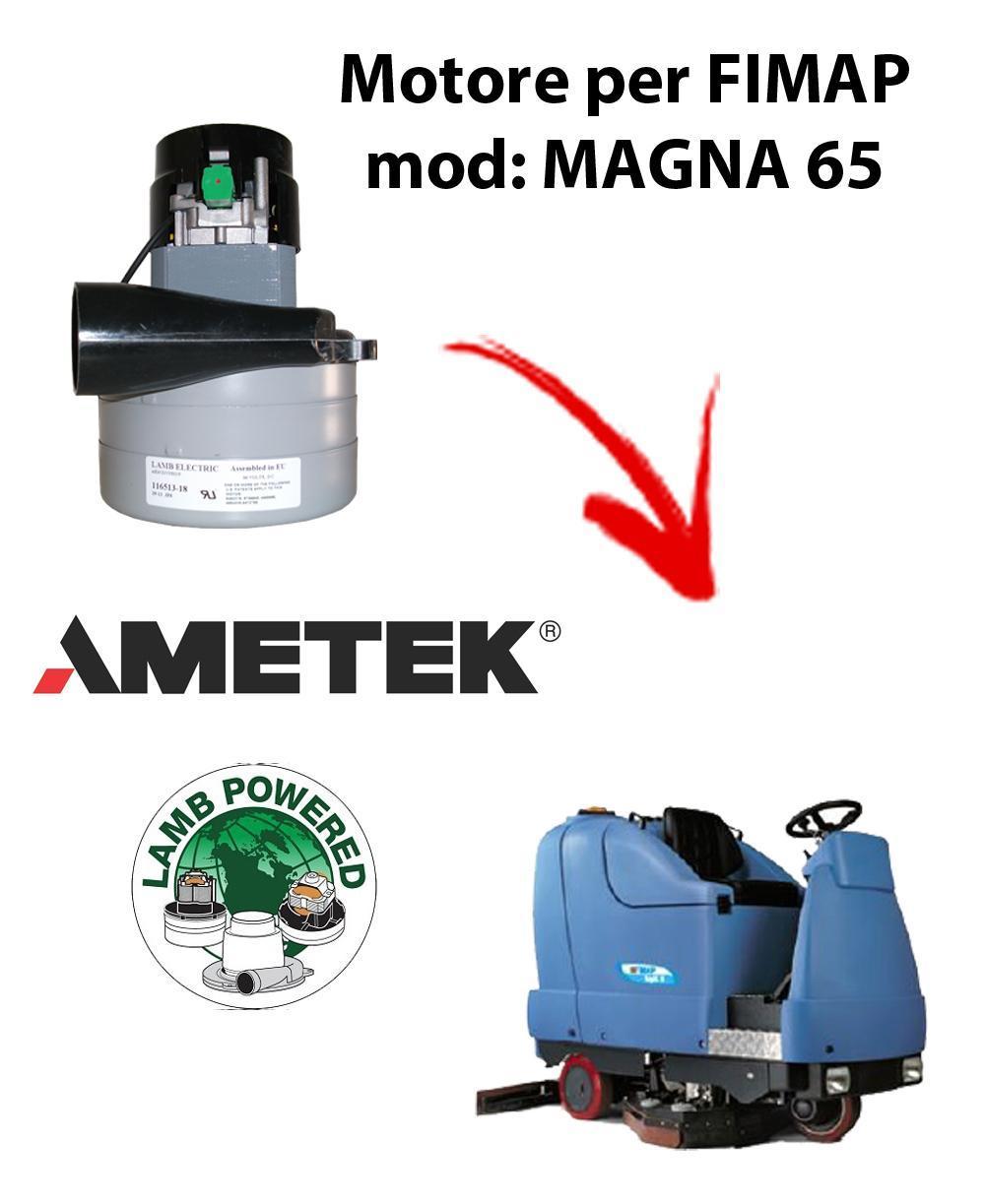 MAGNA 65  Motore de aspiración AMETEK para fregadora Fimap