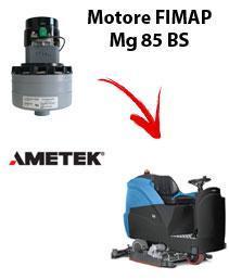 Mg 85 BS   Motore de aspiración Ametek para fregadora Fimap