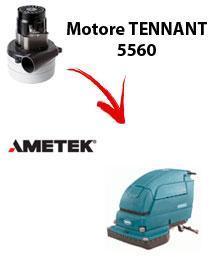 5560 Motore de aspiración Ametek para fregadora TENNANT