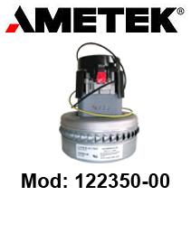 Motore de aspiración 122350-00 LAMB AMETEK para fregadora y aspiradora