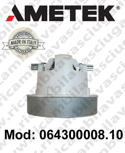 Motore de aspiración 064300008.10 AMETEK ITALIA para sistemas de extracción centralizados