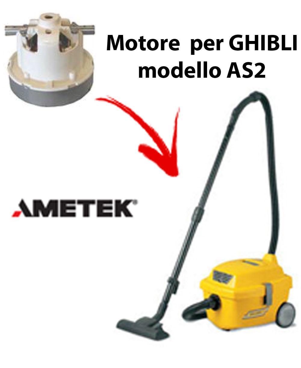 AS2  Motore de aspiración AMETEK para aspiradora GHIBLI