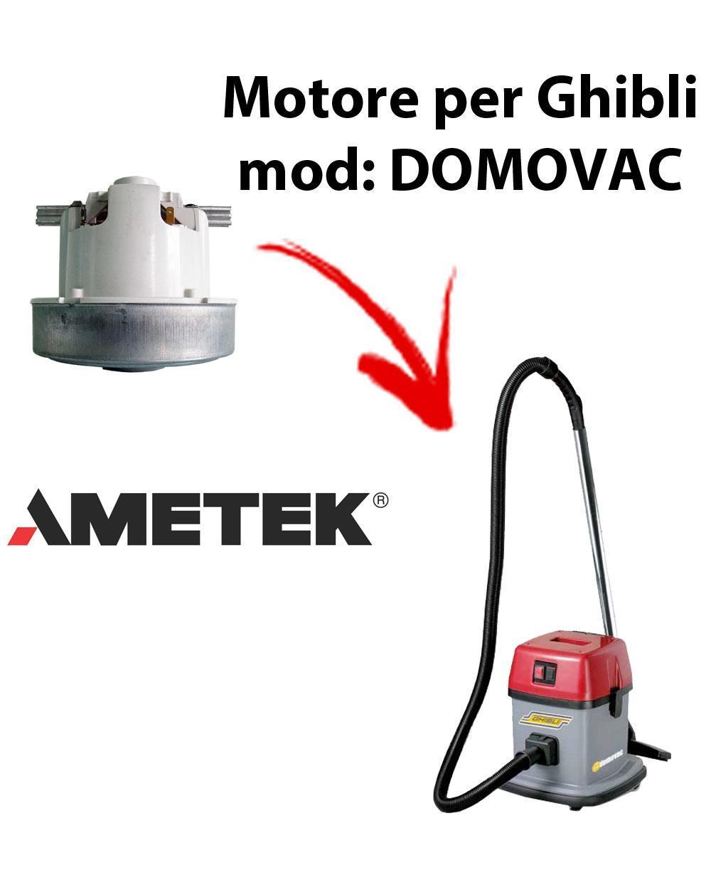 DOMOVAC  Motore de aspiración AMETEK para aspiradora GHIBLI