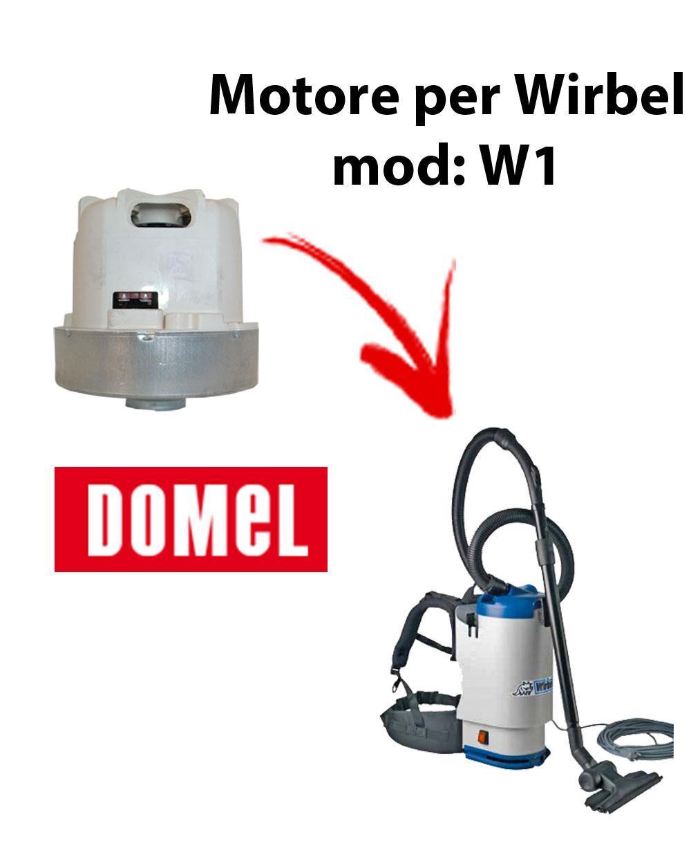 W 1  MOTORE DOMEL aspirazione para aspiradora WIRBEL