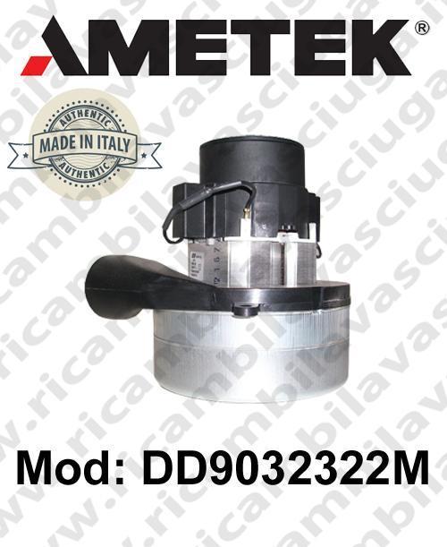 Motore de aspiración DD9032322M AMETEK ITALIA para fregadora y aspiradora