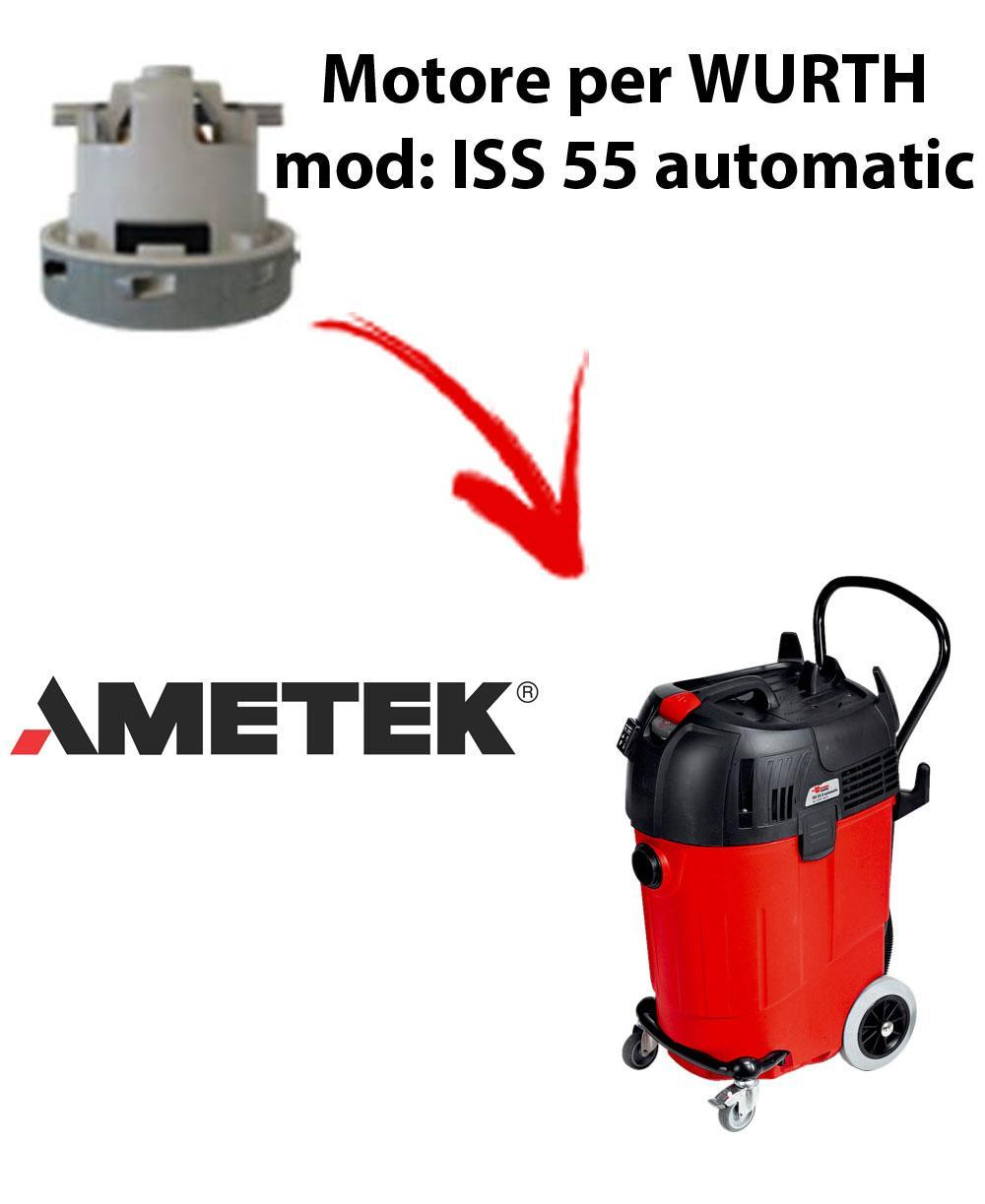 ISS 55 automatic Motore de aspiración AMETEK para aspiradora WURTH