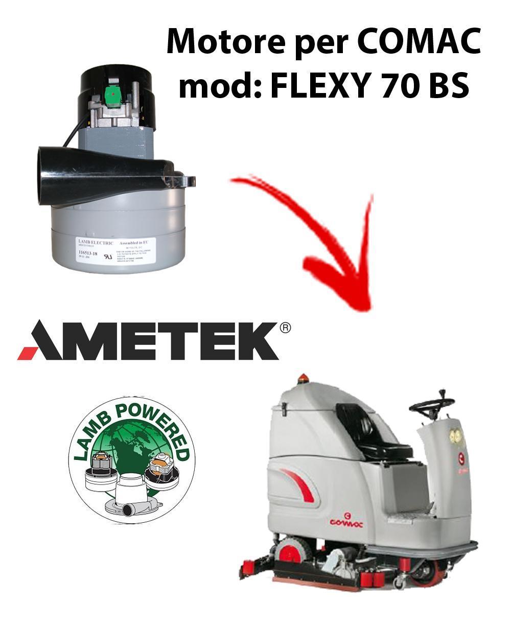 FLEXY 70 BS Motore de aspiración AMETEK para fregadora Comac