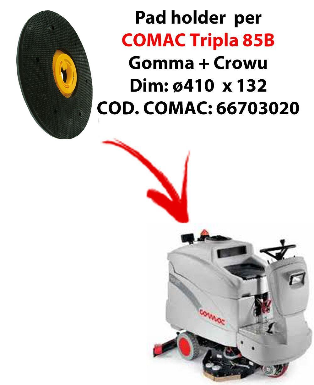 Discos de arrastre ( pad holder) para fregadora COMAC Tripla 85B.