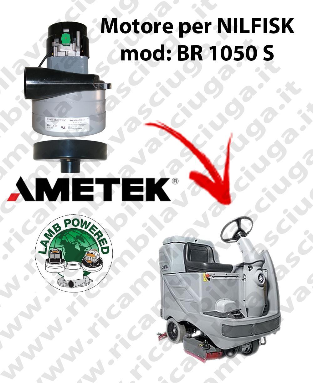 BR 1050 S Motore de aspiración LAMB AMETEK para fregadora NILFISK