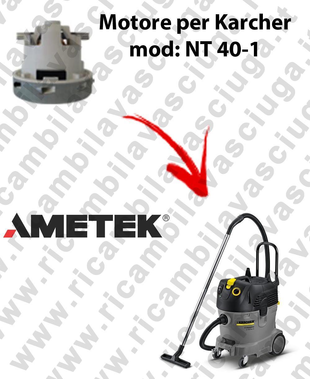NT 40-1 Motore de aspiración AMETEK para aspiradora KERCHER