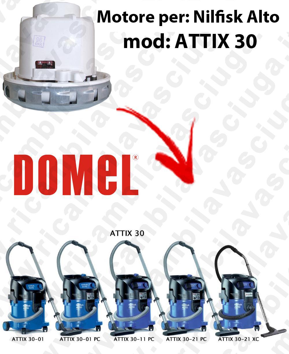 MOTORE DOMEL  para ATTIX 30 aspiradora NILFISK ALTO